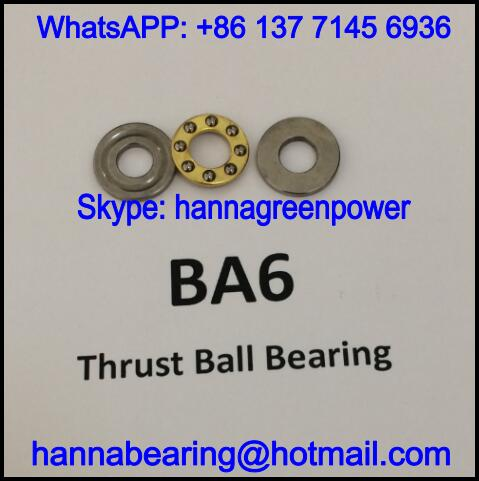 BA6 / BA 6 Single Row Thrust Ball Bearing 6x14x5mm