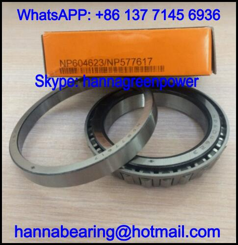 NP577617/NP604623 Single Row Tapered Roller Bearing 60*89.1*15.25mm