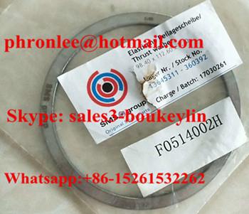 F0514002H Thrust Washer 98.4x112.6x3.3mm