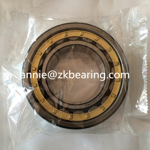 Cylindrical Roller Bearing NU215E NU215ECM Caged Roller Bearing 75x130x25mm