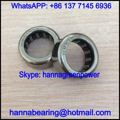 HMK1510 / HMK 1510 Single Row Needle Roller Bearing 15x22x10mm