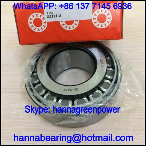 32311-B / 32311B Single Row Tapered Roller Bearing 55x120x45.5mm
