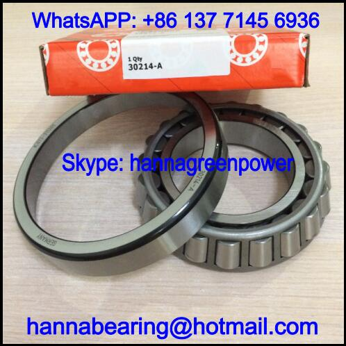 30214-A / 30214A Single Row Tapered Roller Bearing 70x125x26.25mm