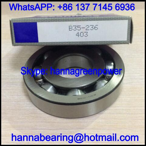 B35-236 Automobile Bearing / Deep Groove Ball Bearing 35x95x19.5mm