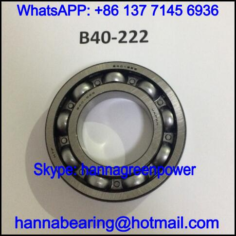 B40-222 Automobile Bearing / Deep Groove Ball Bearing 40x75x16mm