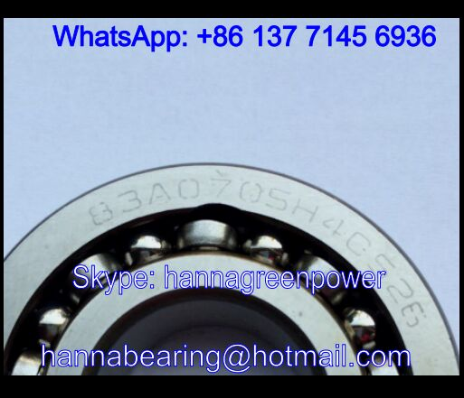 83A070SH4CS26 Double Row Deep Groove Ball Bearing 25x57x18mm