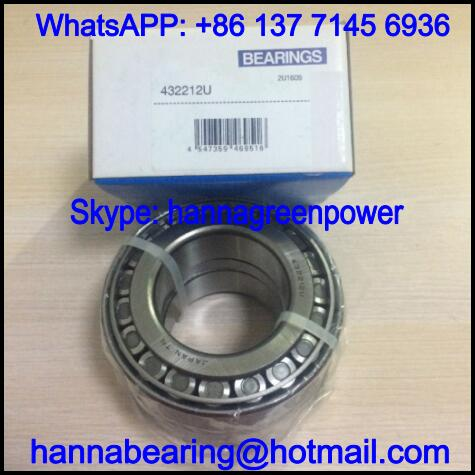 432208X / 432208 X Double Row Tapered Roller Bearing 40x80x55mm