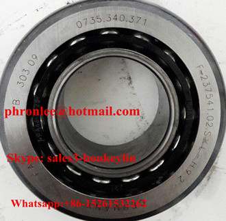 F-237543.02 Angular Contact Ball Bearing 50x100x20mm