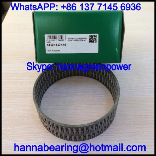 K110X117X40-ZW / K110X117X40ZW Printing Machine Bearing 110*117*40mm