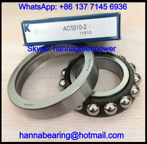 AC1010-2 Differential Bearing / Angular Contact Ball Bearing 50x100x20mm