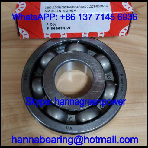 F-566684.KL Automobile Bearing / Deep Groove Ball Bearing 25x68x18mm