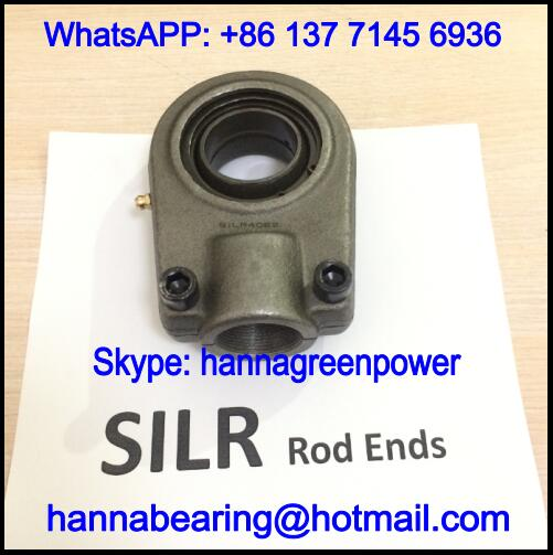 SILR25ES / SILR 25 ES Female Thread Rod End Bearing 25x58x81mm