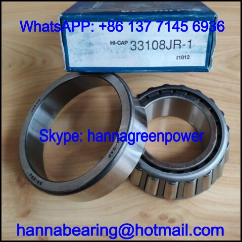 HI-CAP 33108J Automobile Bearing / Tapered Roller Bearing 40*75*26mm