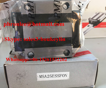 MSA25SSSFCN Linear Guideway Carriage 23x48x40mm