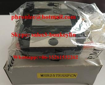 MSB25TESSFCN Linear Guideway Carriage 23x73x33mm