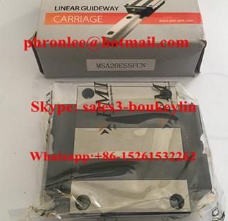 MSA55S Linear Guideway Carriage 53x100x80mm
