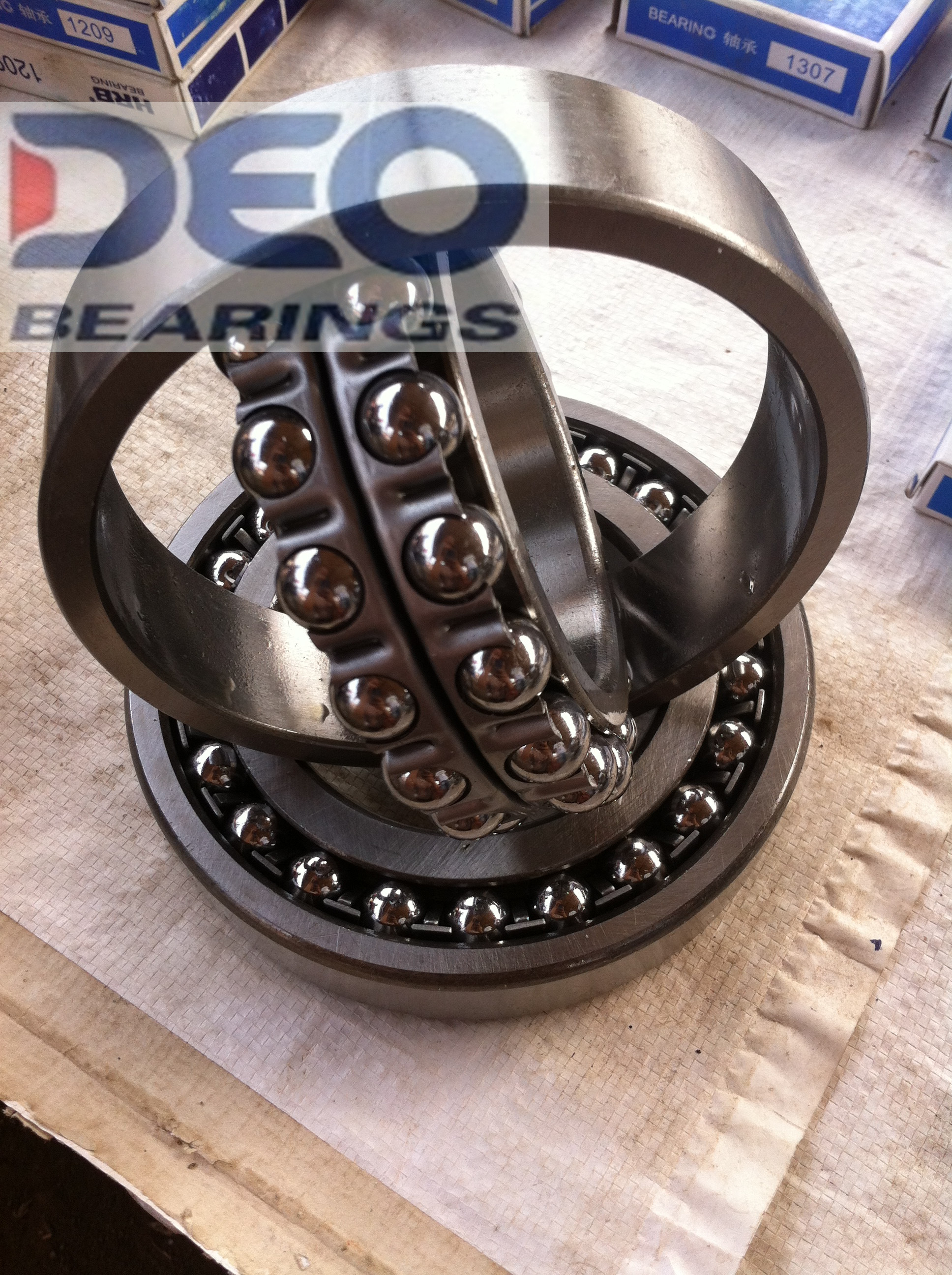 2308 open type 40X90X33 self-aligning ball bearing