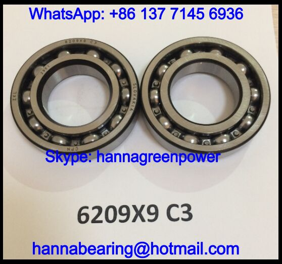6209X9 Automotive Bearing / Deep Groove Ball Bearing 45x85x19mm