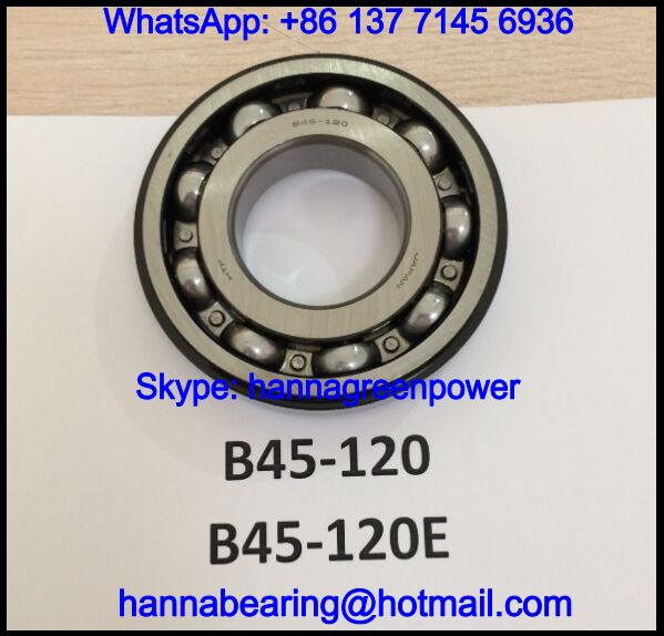 B45-120 / 845-120 Single Row Deep Groove Ball Bearing 45x100x18/21mm