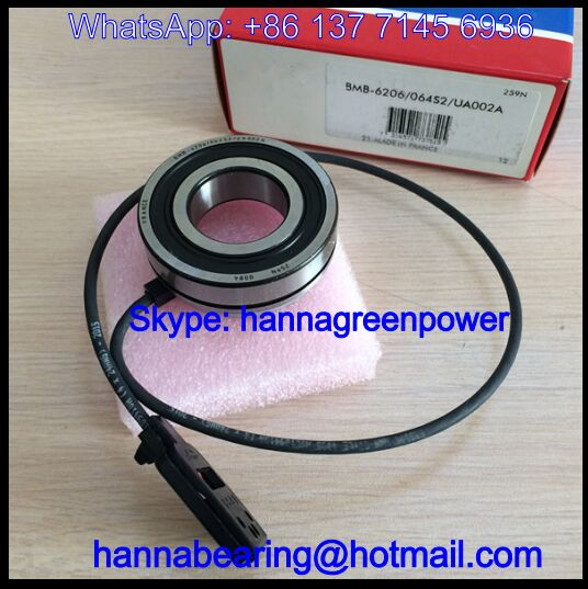 BMB6206/064S2/UA002A Encoder Bearing / Speed Sensor Bearing 30x62x22mm