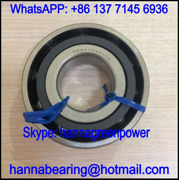 35BAT03AhU1 Cryogenic Pump Bearing / Angular Contact Ball Bearing 35x80x21mm