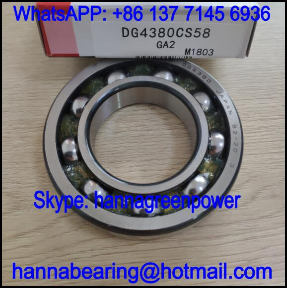 DG4380CS58 Automobile Bearing / Deep Groove Ball Bearing 43x80x17mm