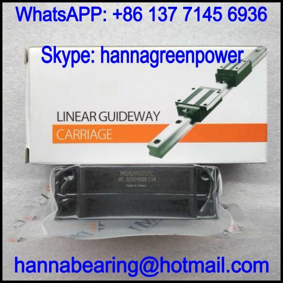 MSA20LSSSFC / MSA20LSSSFCN Linear Guideway Block 88.8x44x25mm