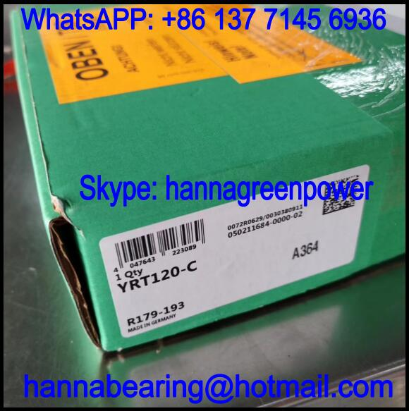YRTC120 / YRTC 120 Rotary Table Bearing 120x210x40mm