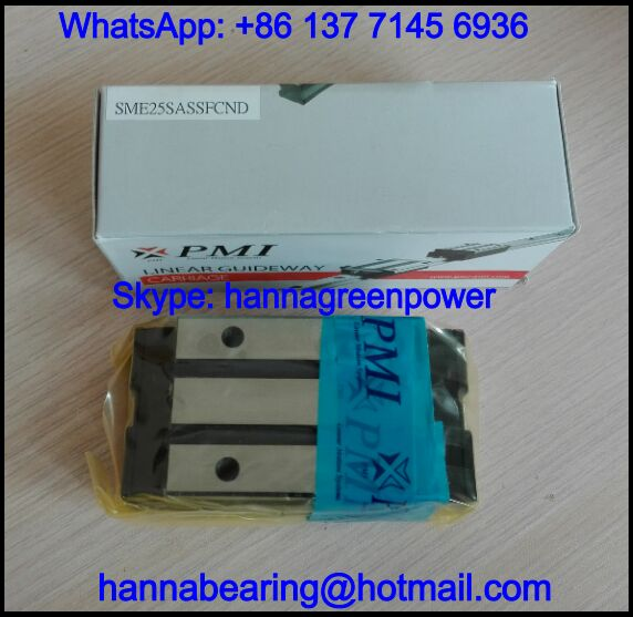 SME20SASSFCN / SME20SASSFC Linear Guide Carriage 25.3x44x78.5mm