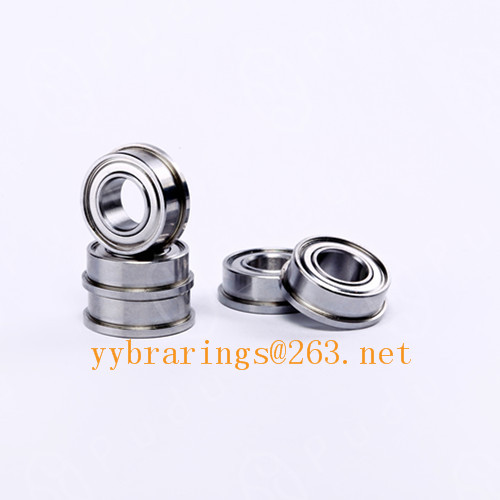 MF106 ZZ 6X10X3MM Flange Deep Groove Ball Bearing
