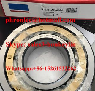 NU 317 ECM/C4VA301 Cylindrical Roller Bearing 85x180x41mm