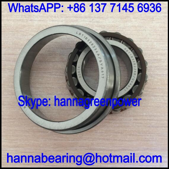 RBT1B328236B/QVA621 Flange Tapered Roller Bearing 30x62/68x19mm