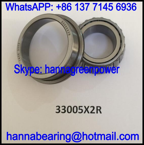 33005X2R Flange Tapered Roller Bearing 25x47/53x17mm
