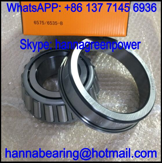6575/35B Single Row Tapered Roller Bearing 76.2x161.925x55.1mm
