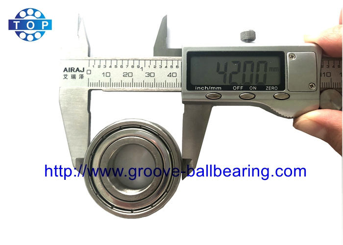S6004ZZ Stainless Steel Ball Bearing 20mm x 42mm x 12mm