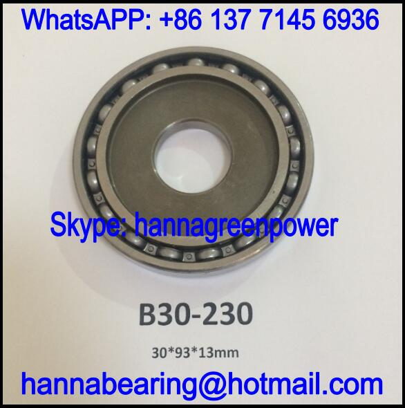 B30-230 Automobile Bearing / Deep Groove Ball Bearing 30*93*13mm