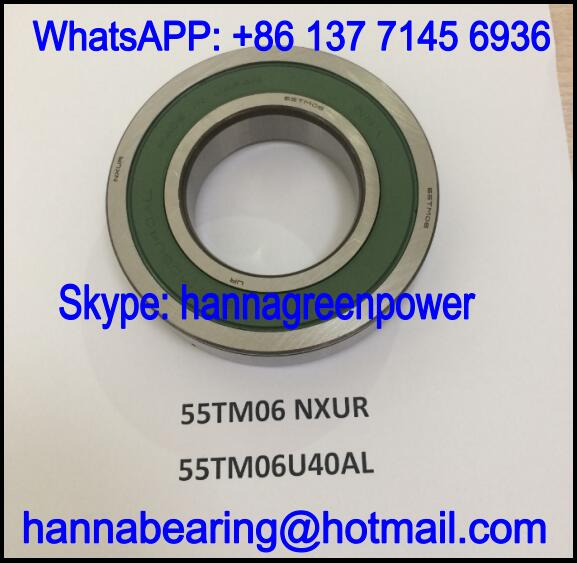 55TM06U40AL Automobile Bearing / Deep Groove Ball Bearing 55x105x23mm