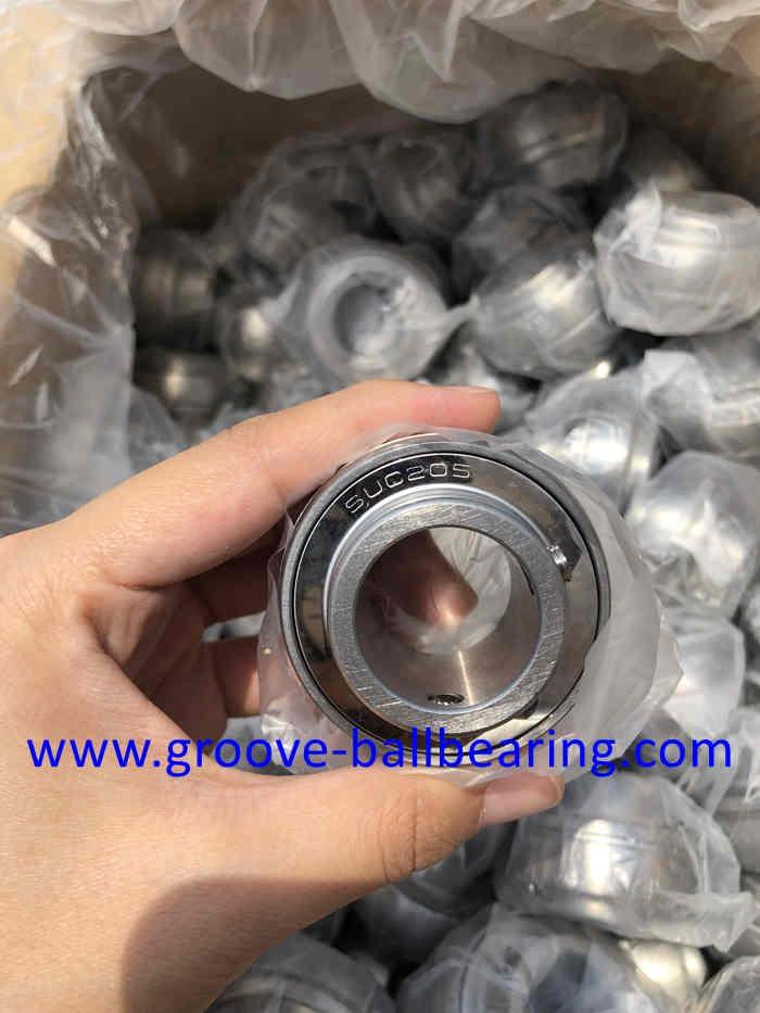 SUC205 440 Stainless Steel Insert Ball Bearing