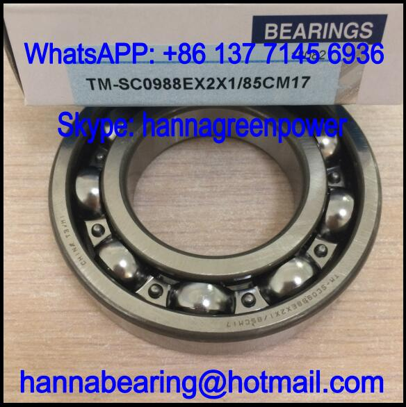 SC0988EX2X1/85CM17 Automobile Deep Groove Ball Bearing 45x85x17mm