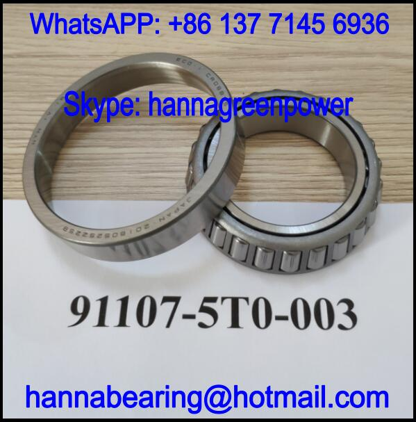 91107-5T0-003 Automotive Bearing / Gearbox Bearing 40x65x15.5mm