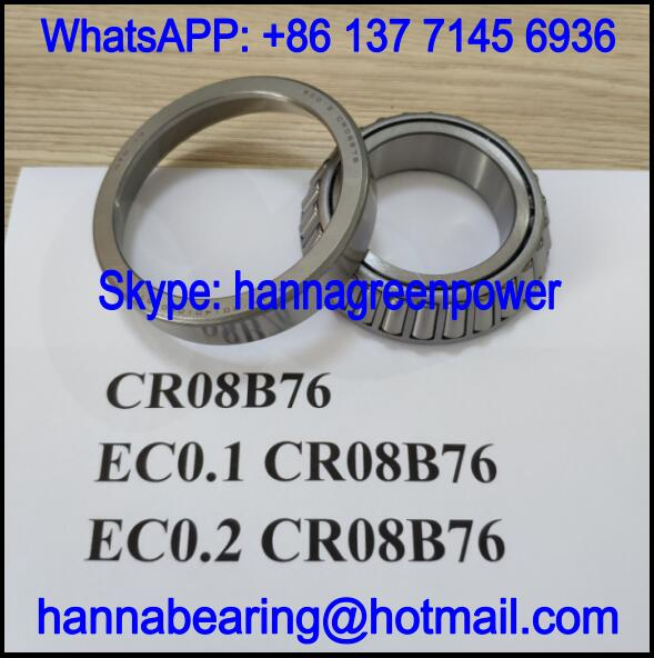 CR08B76 Automobile Bearing / Tapered Roller Bearing 40x68x16mm