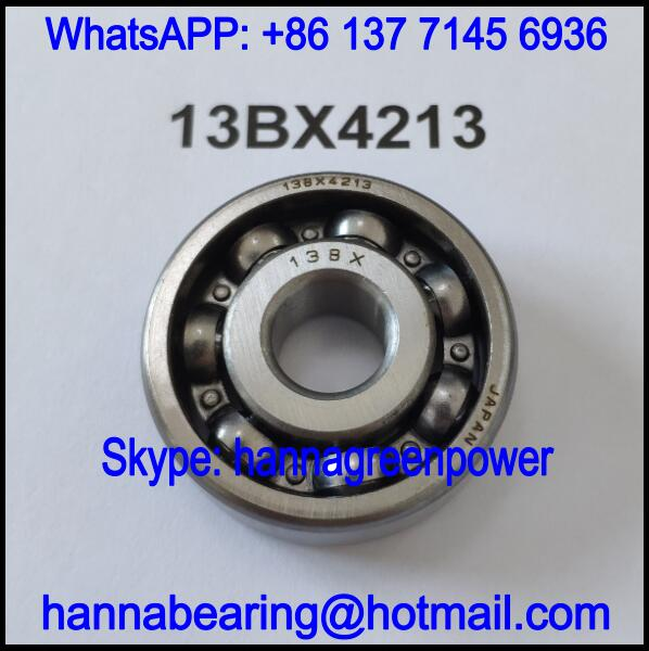 13BX4213 Automobile Bearing / Deep Groove Ball Bearing 13x42x13mm