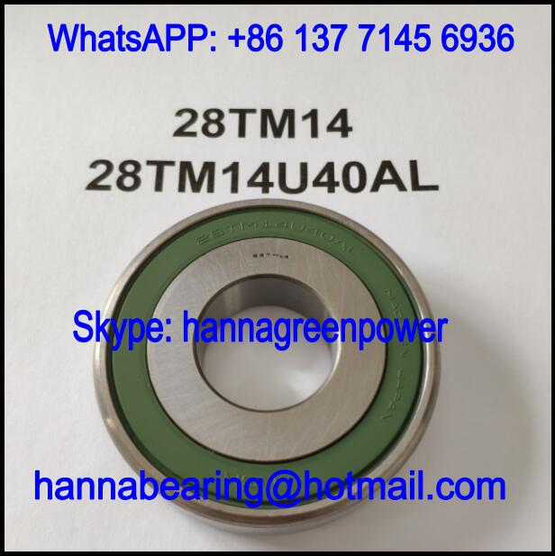 28TM14 Automobile Bearing / Deep Groove Ball Bearing 28x69x15mm