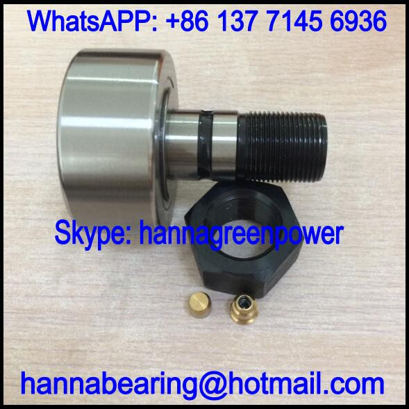 NUCF24-AB Cam Follower Bearing / NUCF24AB Track Roller Bearing 24x62x80mm