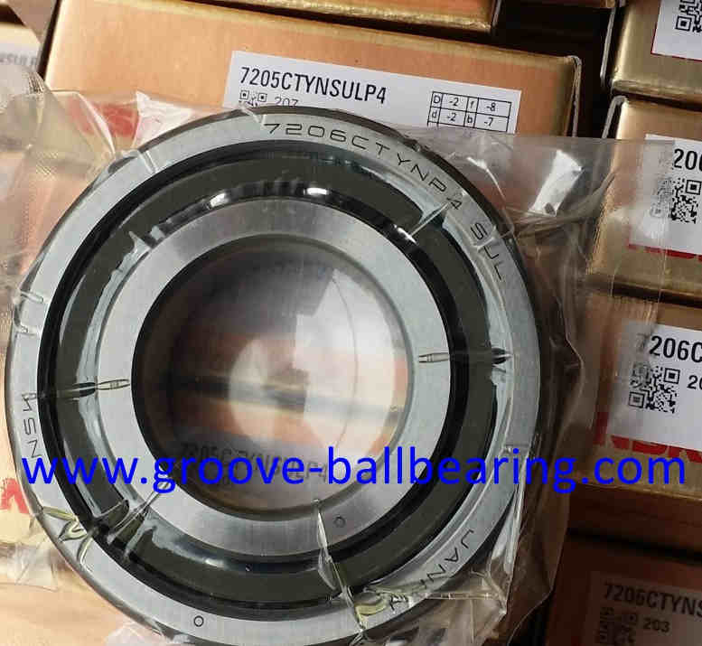 7206CTYNDULP4 Angular Contact Ball Bearing 30×62×16