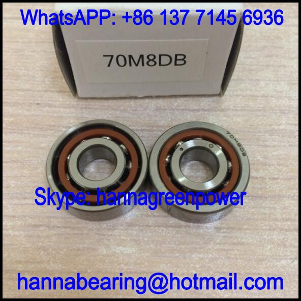 79M6ADF Duplex Angular Contact Ball Bearing 6x15x10mm