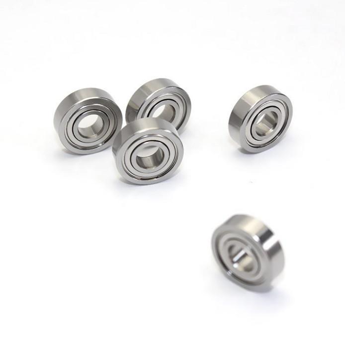 624ZZ Miniature shielded deep groove ball bearing 4x13x5mm