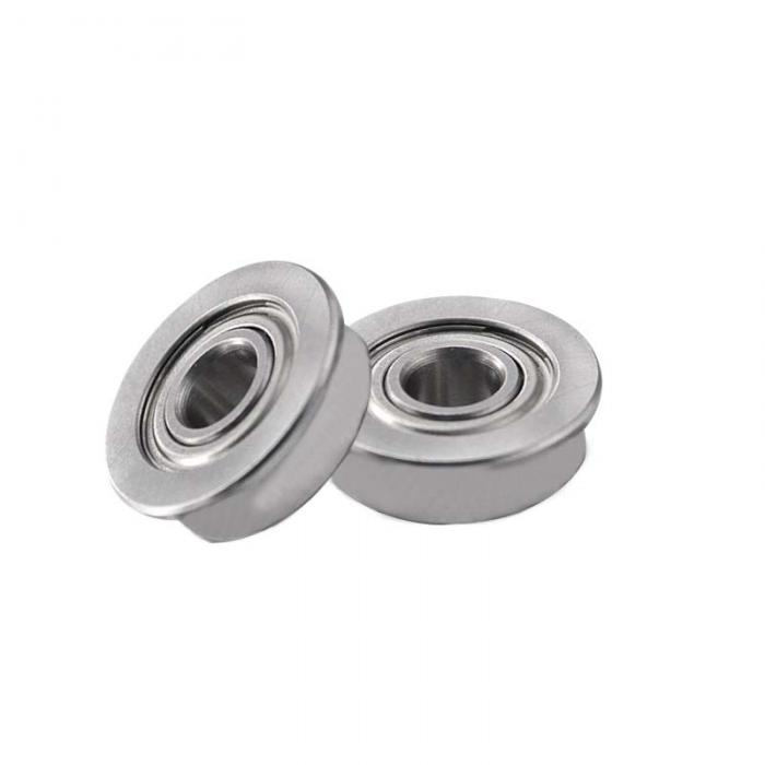 F624ZZ Miniature ball bearings with flange 4x13x5mm