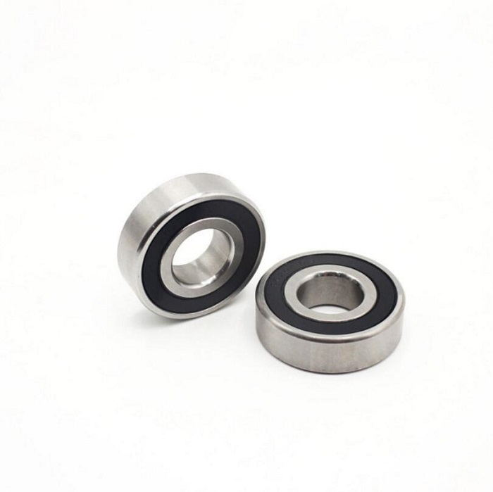 R6-2RS Inch Deep Groove Ball Bearings 9.525*22.225*7.142mm