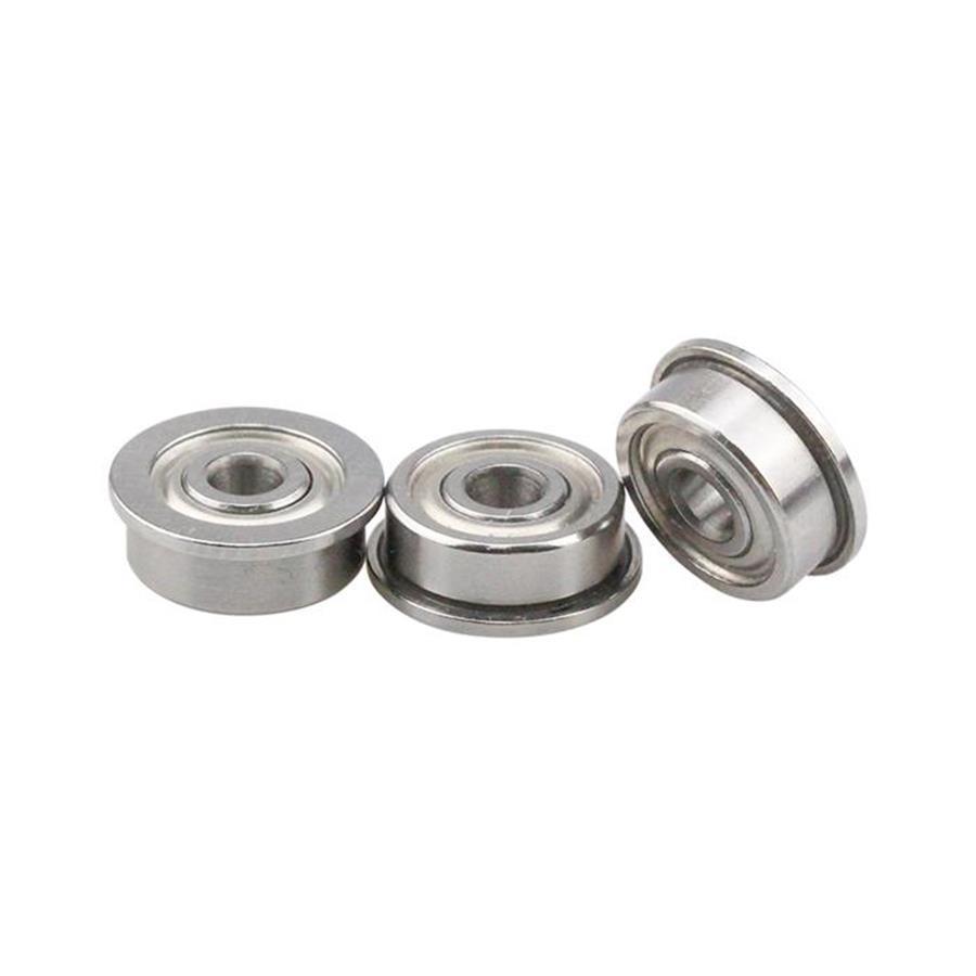 F689ZZ 8x17x5mm Metal Shielded Miniature Flanged Ball Bearings